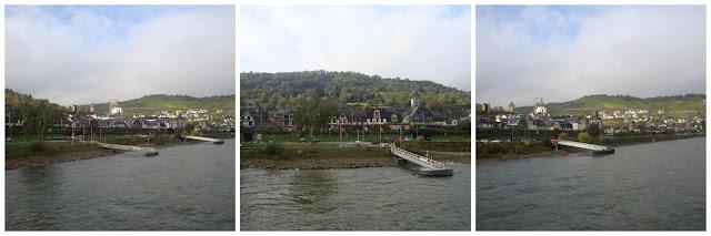 passeio de barco pelo rio Reno entro Rüdesheim e Koblenz