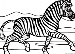The Latest Images Running Zebras On Forest Coloring Pages