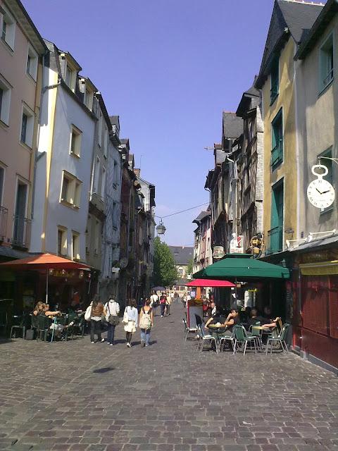 Rue de la Soif - Rua da Sede - Rennes - França