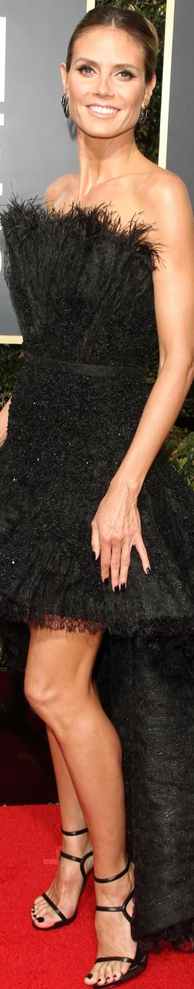 Heidi Klum 2018 Golden Globes