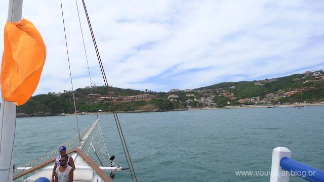 Chegando à praia de João Fernandes