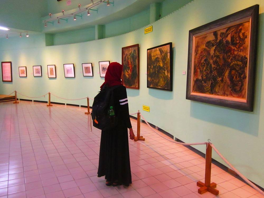 Mengintip Lukisan Sarat Makna milik Affandi, Museum Affandi
