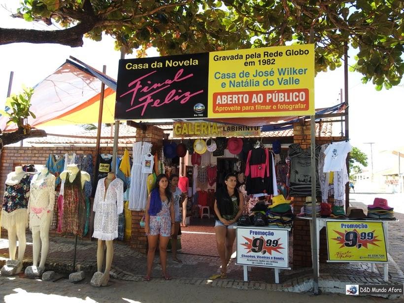Diário de Bordo - Casa cenário da novela Final Feliz em Morro Branco, Ceará