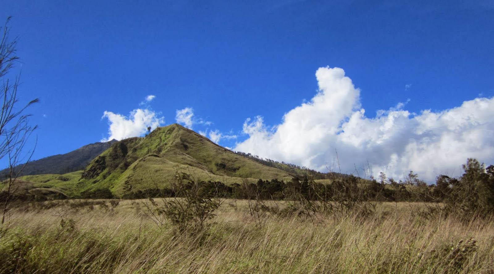 Pemandangan Gunung Arjuna (3.339 mdpl) - Malang padang cantik indah