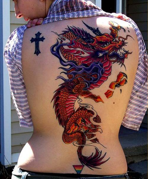 asian dragon tattoos ejderha dövmeleri