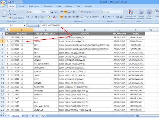 Cara Super Mudah Konversi Angka Ke Text Pada Excel
