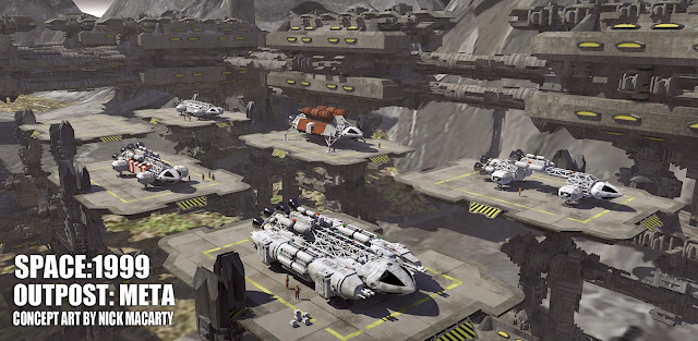 Space 1999 Meta outpost alien