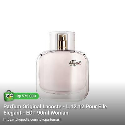 lacoste l1212 pour elle elegant edt 90ml woman