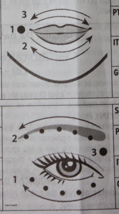 gestuelles lèvres et yeux Galenic