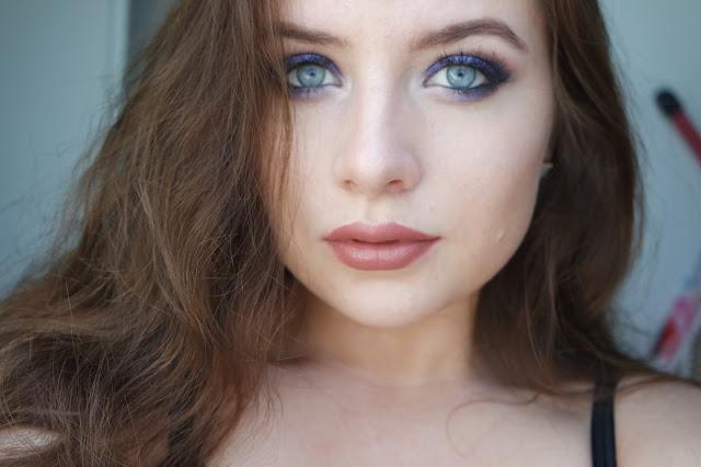 blue eyemakeup kim kardashian tutorial