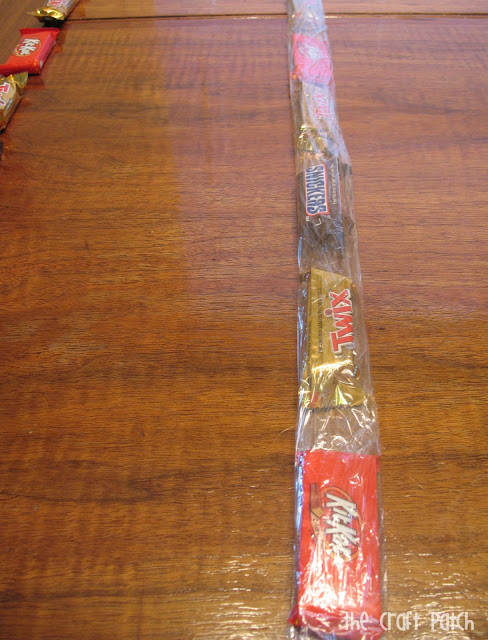 Candy Bar Lei for Graduation