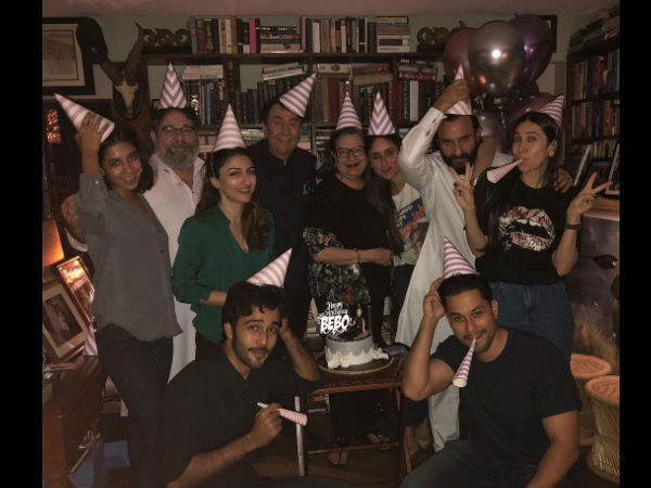 Where Is Taimur? Throughout Shots From Kareena Kapoor Khan's Midnight Birthday Party!