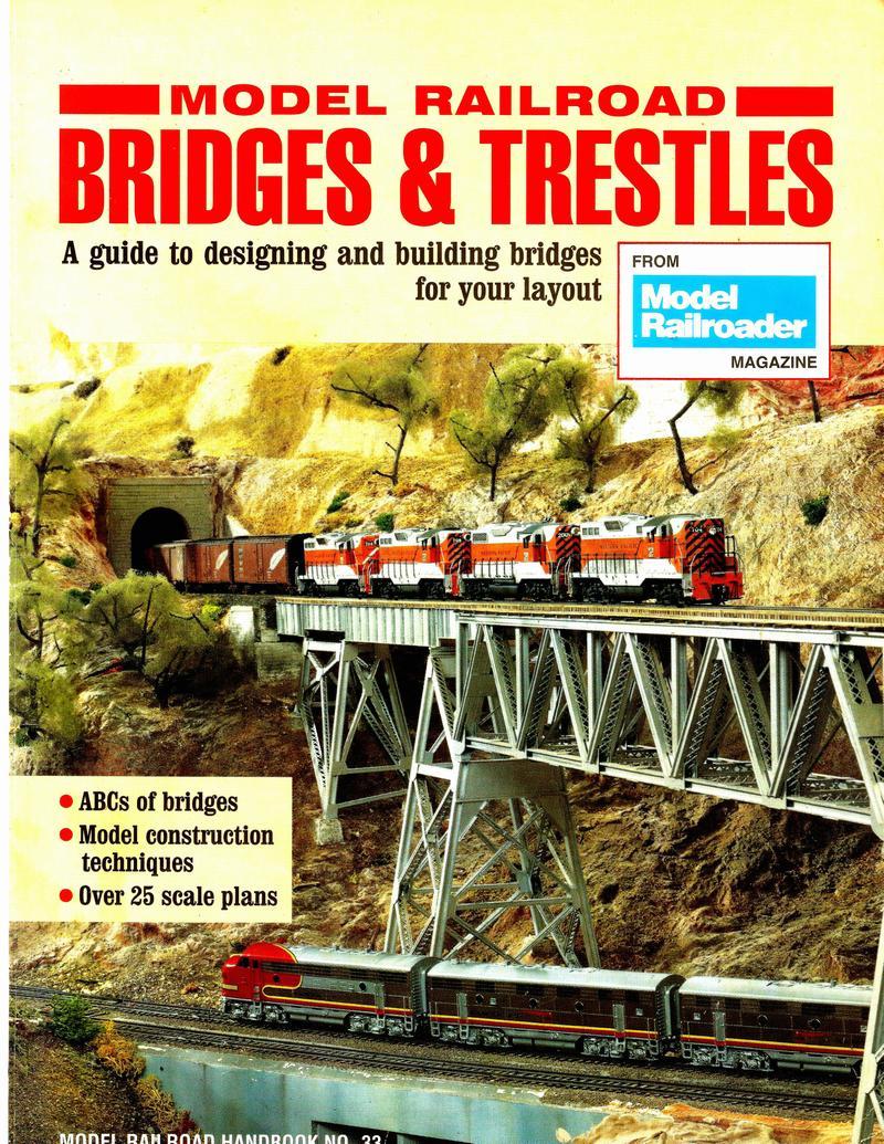 Wood Truss Bridge Model Railroader Magazine Railroading Howe Diagram Page 39