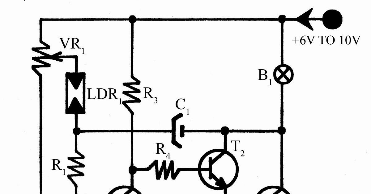 Build a Flashing Light with Twilight Switch Circuit