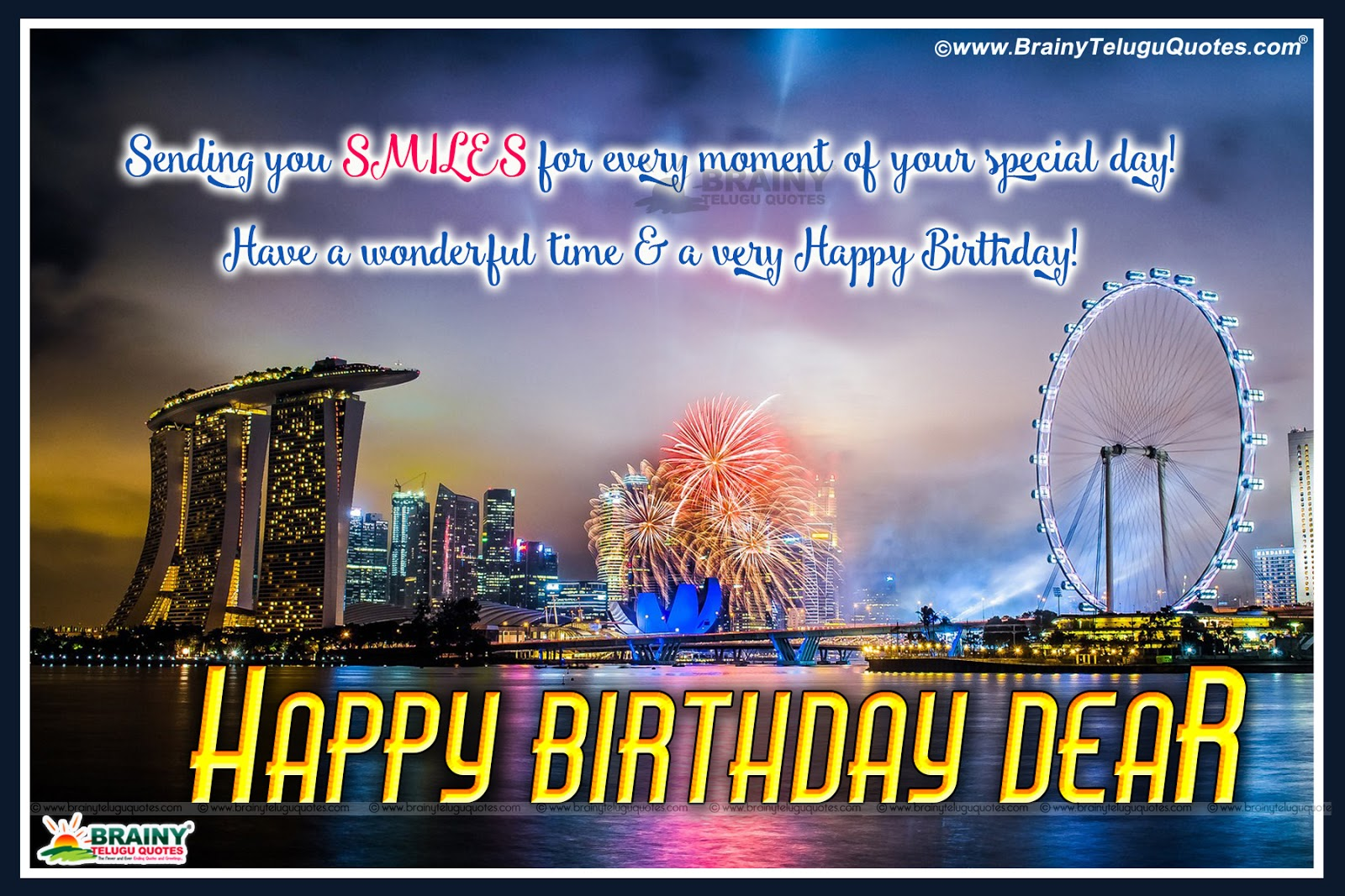 Birthday Quotes Lover In Telugu Happy Birthday Wishes For A Friend - Best Birthday Wishes