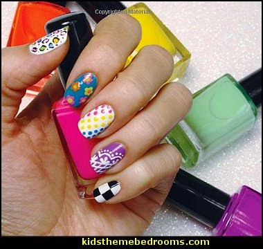 nail design-nail decorations-nail polish-manicure theme bedroom ideas