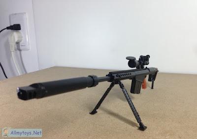 1:6 Scale Model Toy Gun M82A1 3
