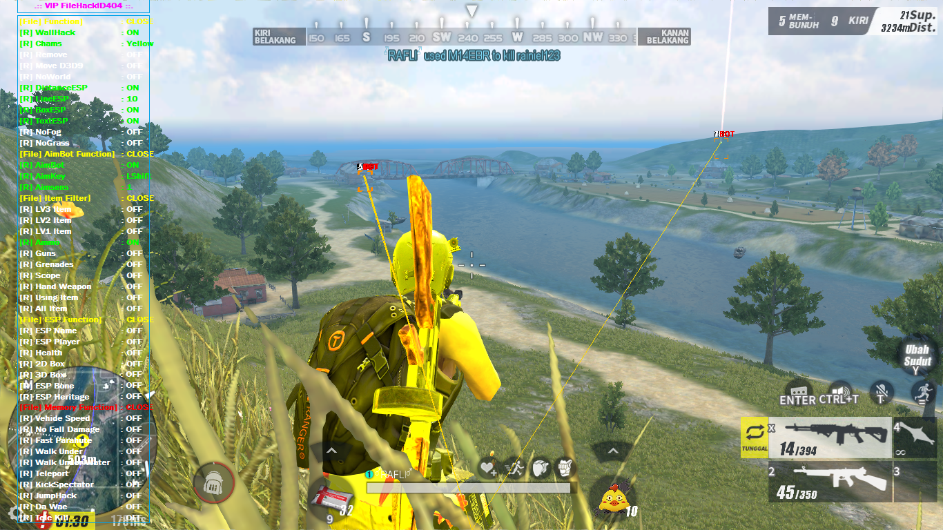 🔥 Download cheat ros pc september | Cheat Rules of Survival (RoS