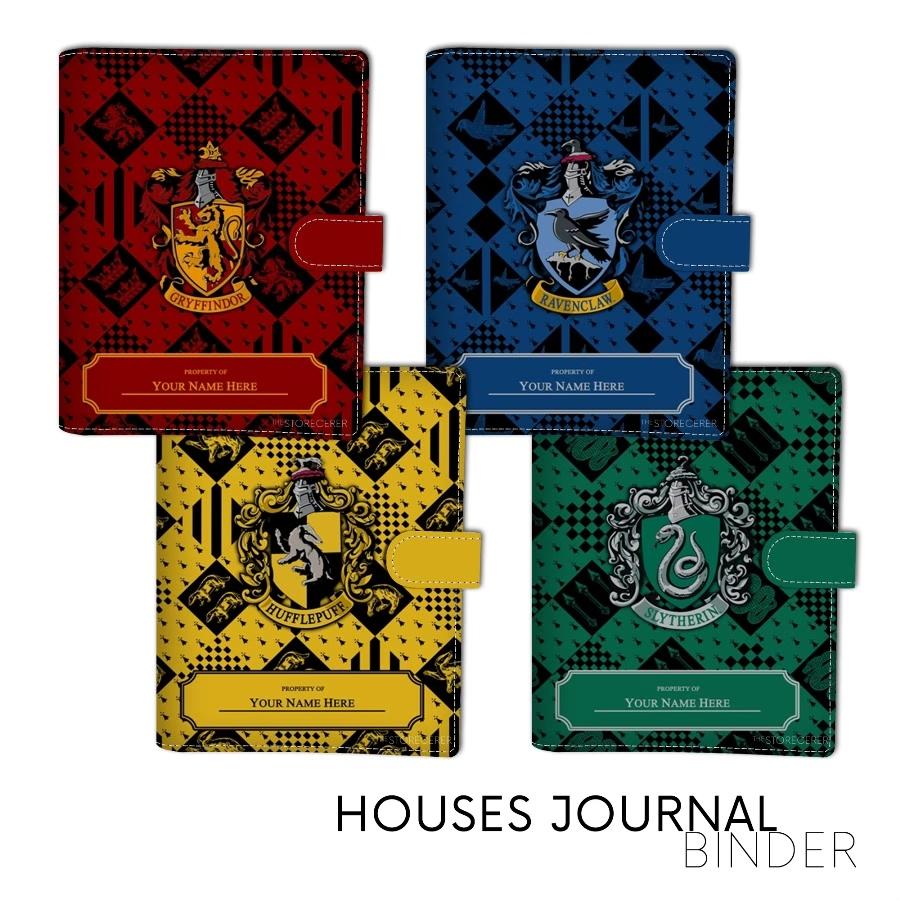 binder asrama hogwarts + nama