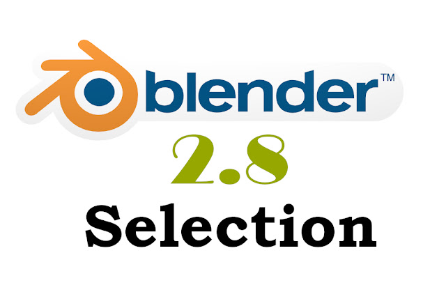 Blender 2.8 selecting objects