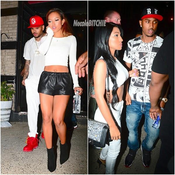 EGistOnline Magazine: Date Night: Chris Brown & Karrueche