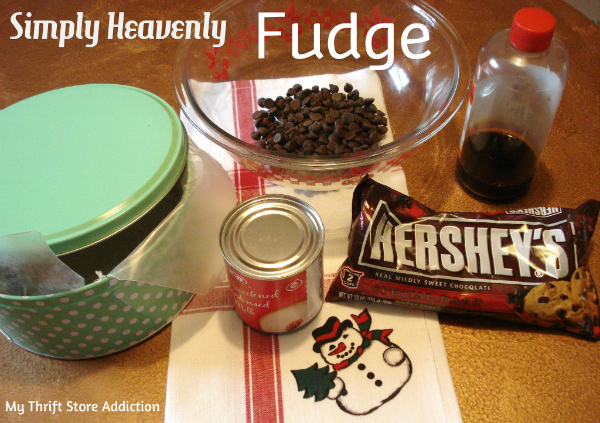 3 ingredient microwave fudge recipe