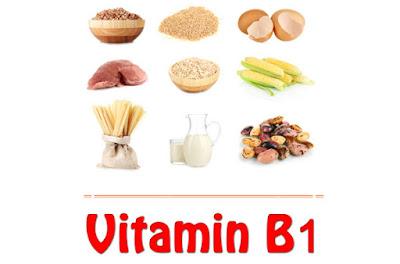 Sumber/Fungsi Vitamin B1 (Tiamin)