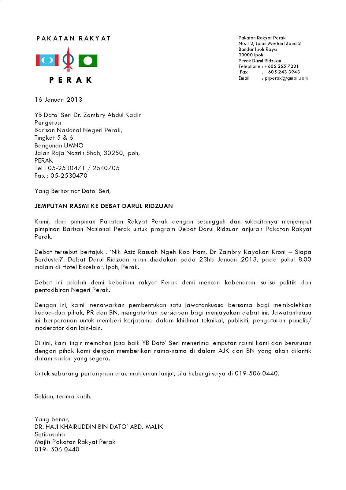 contoh surat rasmi sewa dewan jobsdb