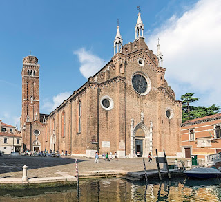 The Basilica Maria Gloriosa dei Frari is one of the most notable churches in the San Polo sestiere of Venice