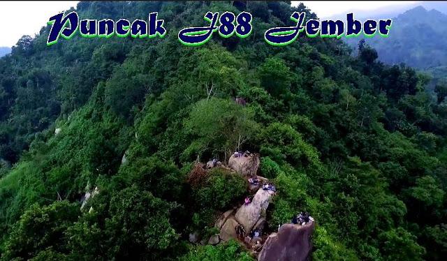 Tempat Wisata Puncak (Bukit) J88 Jelbug Jember Yang Keren