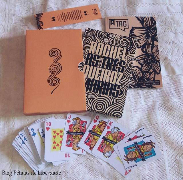 Rachel de Queiroz, As três Marias, unboxing, tag livros