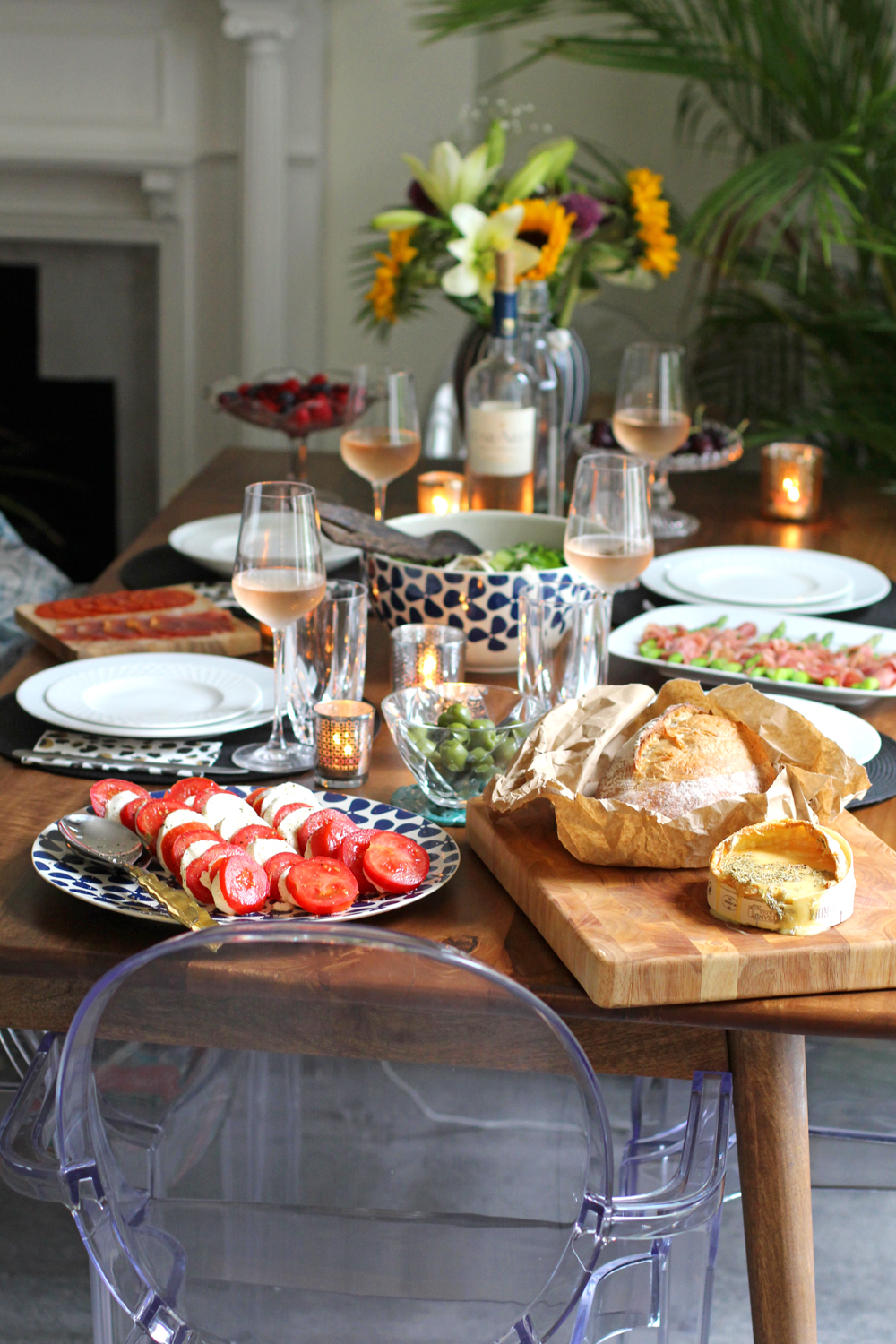 Summer dining - UK lifestyle blog