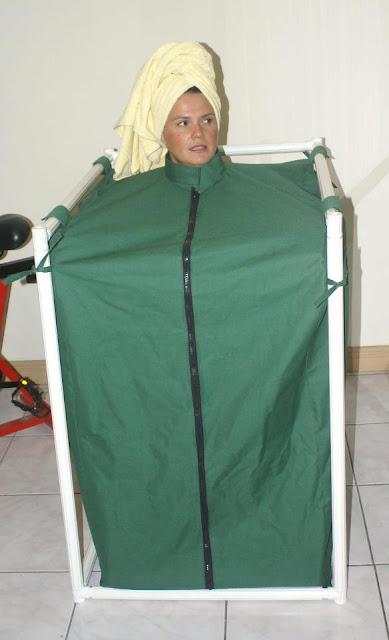 Ba o de vapor portatil como hacer el ba o de vapor - Como hacer una sauna ...
