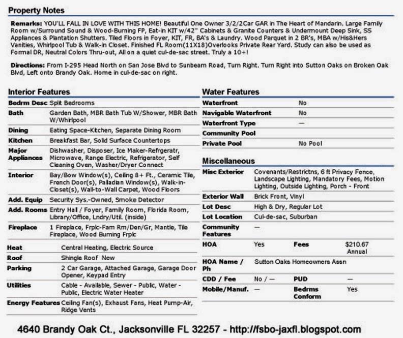 4640 Brandy Oak Court, Jacksonville, FL 32257 features