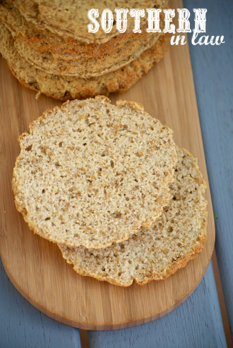 Southern In Law: Recipe: Grain Free Sandwich Thins