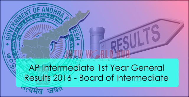 Ap Intermediate 1st Year Results 2016