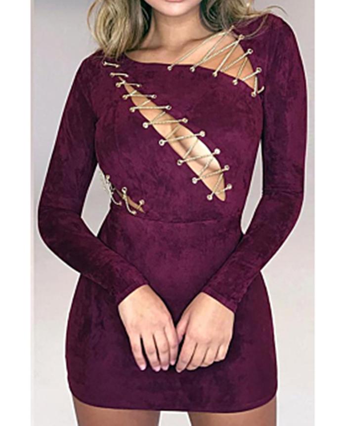 https://www.girlmerry.com/suede-iron-chain-sexy-tight-zipper-back-mini-dress.html