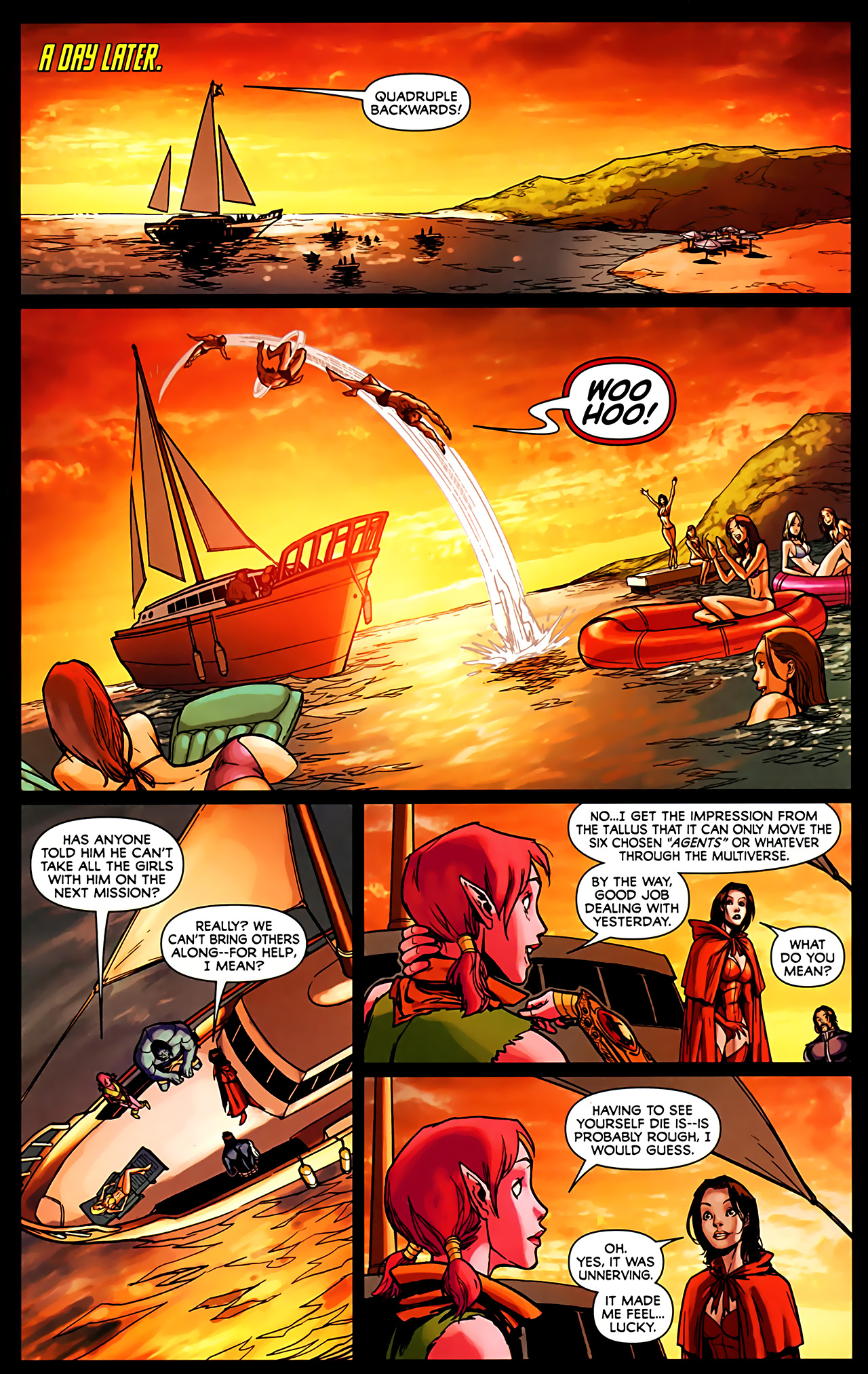 Read online Exiles (2009) comic -  Issue #6 - 16