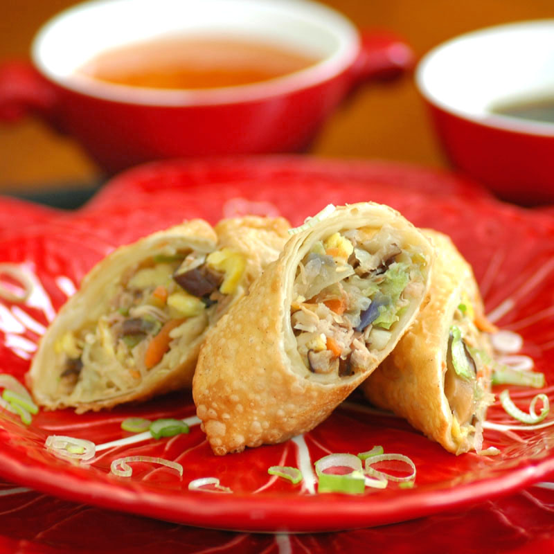 Savoring Time In The Kitchen: Chinese Egg Rolls For The