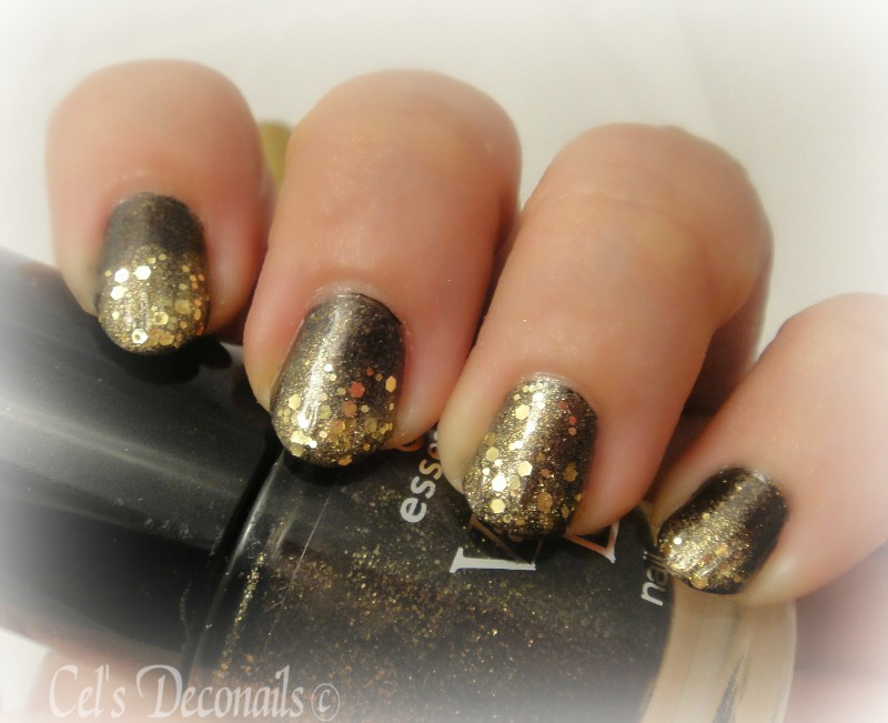 Gold and black for James Bond | Dizzy Miss Lizzi