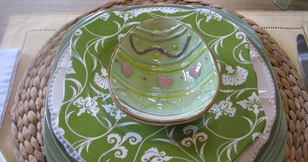 Designs By Pinky Our Everyday Spring Placesetting