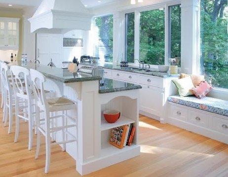 Un banco en la cocina | Decoración