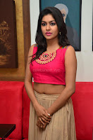 Akshita super cute Pink Choli at south indian thalis and filmy breakfast in Filmy Junction inaguration by Gopichand ~  Exclusive 032.JPG