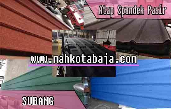 Harga Atap Spandek Pasir Subang