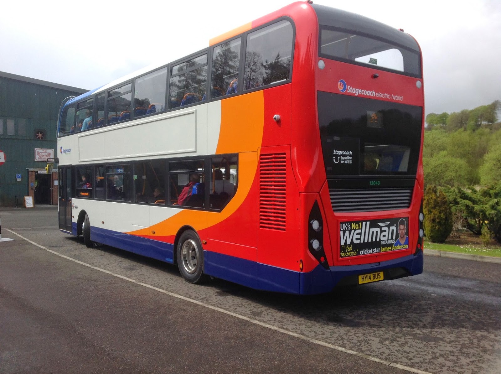 Steve's Bus & Train Page: Volvo and ADL Together Again
