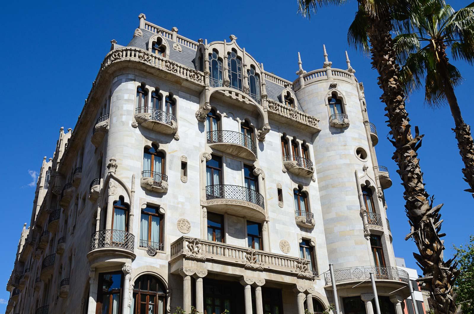 Grand Luxe Hotel Casa Fuster in Barcelona