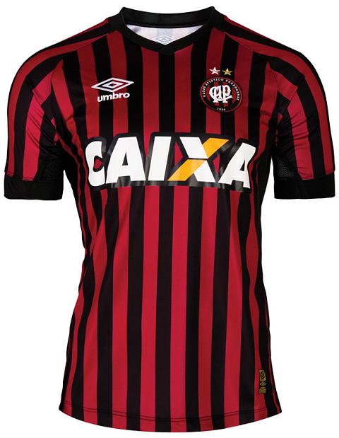 39968bf02d Umbro divulga as novas camisas do Atlético Paranaense - Show de Camisas