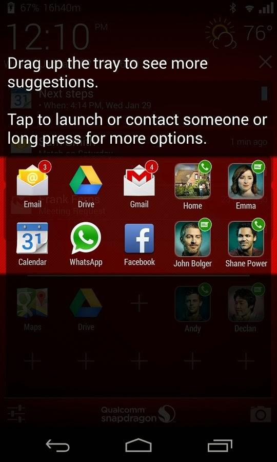 Snapdragon Glance for Android