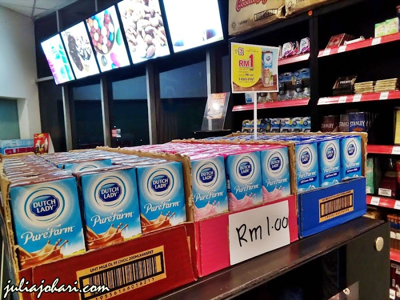 Hunting Promosi Susu Dutch Lady RM1 di 7 Eleven