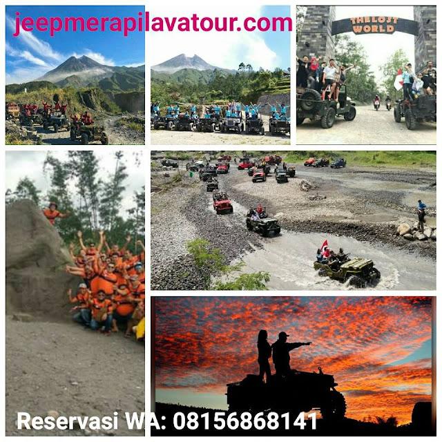 Rute Baru Jeep Merapi Lava Tour Setelah Erupsi Mei 2018